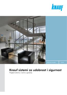 Knauf sistemi za udobnost i sigurnost