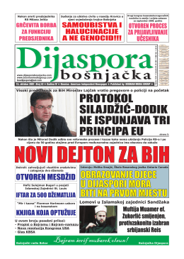bosnjacka - Bosnian Media Group