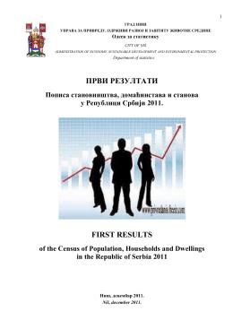 први резултати пописа 2011