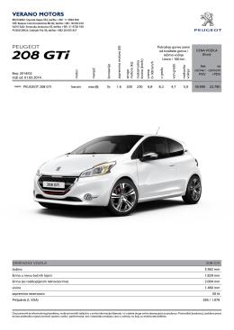 208 GTi - Verano Motors