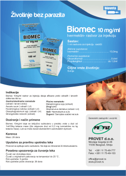 Biomec 10mg/ml