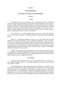 1 A. Šercer Otorinolaringologija XLIII Hitne intervencije u
