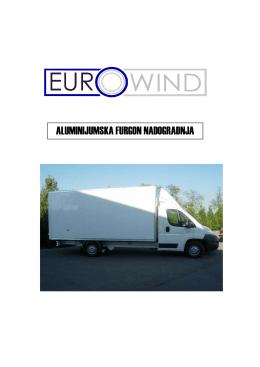 aluminijumska furgon nadogradnja