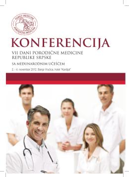 Program konferencije VII Dani porodične medicine RS sa