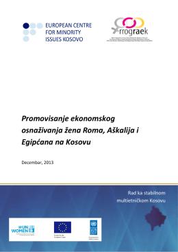 Promovisanje ekonomskog osnaživanja žena Roma