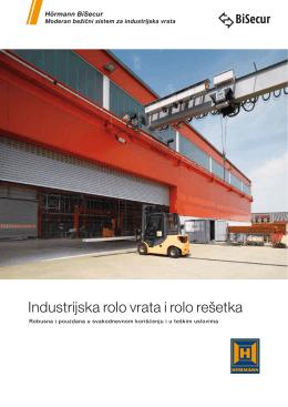 Industrijska rolo vrata i rolo rešetka