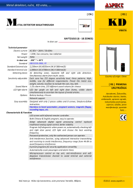 Metal detektori, rućni, KD vrata, ….