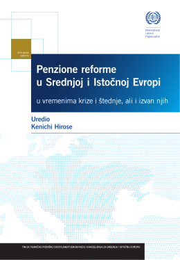Penzione reforme u Srednjoj i Istocˇnoj Evropi
