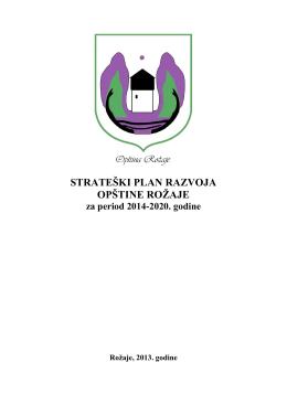 Strateški plan razvoja opštine Rožaje
