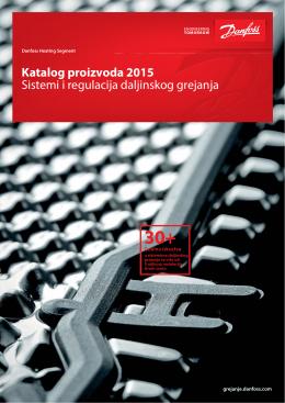 Katalog proizvoda 2015 Sistemi i regulacija