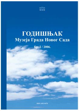 GODISNJAK Muzja Grada Novog Sada br. 2 (2006)