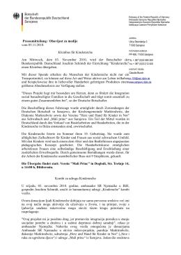 Kombi za udrugu Kinderarche / Kleinbus für Kinderarche (03.11.2010)