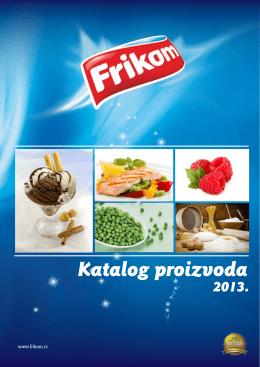 Katalog Frikom proizvoda