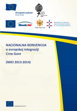NACIONALNA KONVENCIJA o evropskoj integraciji Crne Gore NAT