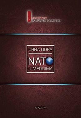 Crna Gora - NATO u medijima - Institut za javnu politiku