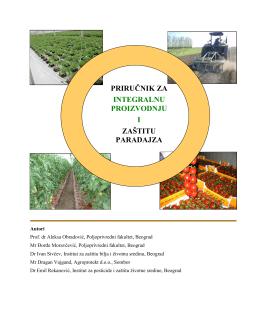 priručnik za integralnu proizvodnju i zaštitu paradajza