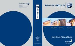 HAHN+KOLB SRBIJA - HAHN+KOLB Werkzeuge GmbH
