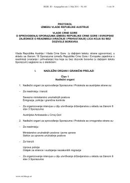 protokol između vlade republike austrije i vlade crne gore o