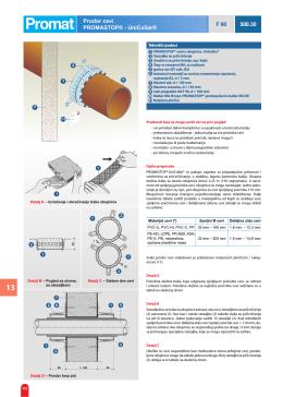 Prodor cevi PROMASTOP® - UniCollar® F 90 500.30