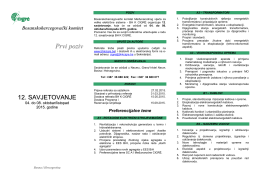 Prvi poziv (pdf)