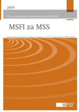 Međunarodni standard finansijskog izvještavanja za male i srednje