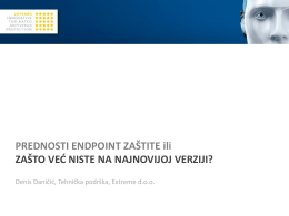 ESET Endpoint zaštita