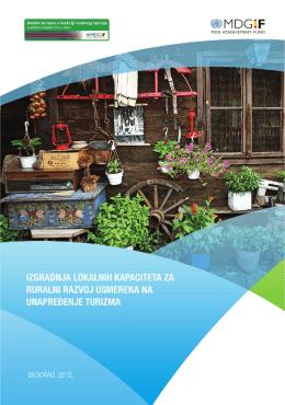 IZGRADNJA lokalnih kapaciteta za ruralni razvoj usmerena na