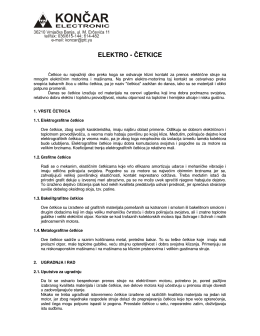 """KONČAR Electronic – ELEKTRO ČETKICE"" (download)"