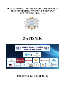 Montenegro OPEN 2014