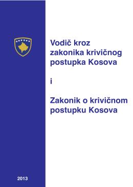Vodic kroz zakonika krivicnog postupka kosova