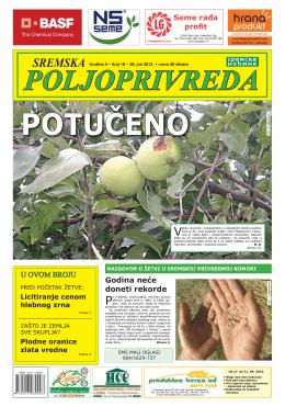 Sremska poljoprivreda broj 18 28 jun 2013