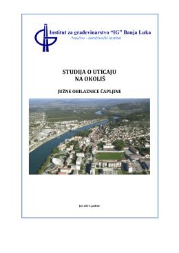 Studij o utjecaju na okoliš Južne obilaznice Čapljine