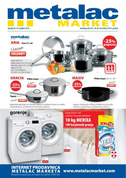 Metalac market katalog novembar 2014