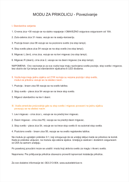 modul za auto prikolicu list 3 tekst