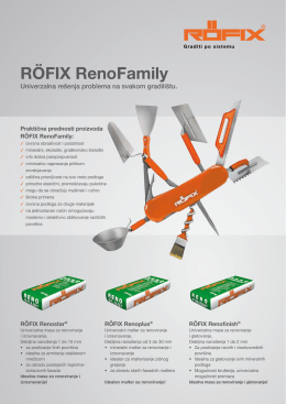 RÖFIX RenoFamily