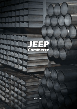 Katalog JEEP Commerce mart 2011