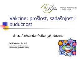 Vakcine: prošlost, sadašnjost i budućnost