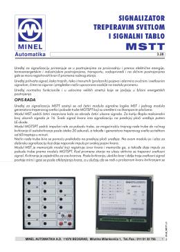 MSTT - minel automatika