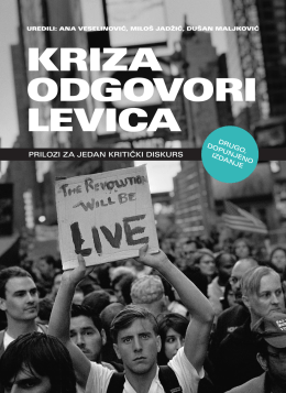 kriza odgovori levica - Rosa Luxemburg Stiftung Southeast Europe