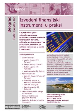 Opis seminara - Omega Finance