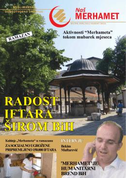 RAdost IFtARA ŠIRoM BiH