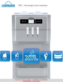 XVL – Tehnologija instant sladoleda