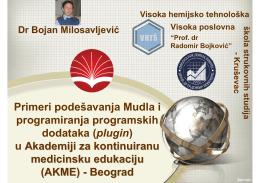 (AKME) – Beograd - Moodle Mreža Srbije