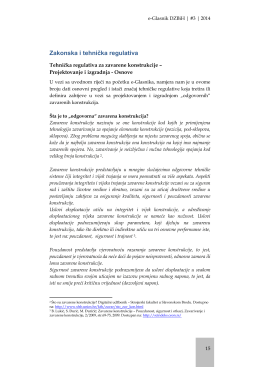 Zakonska i tehnička regulativa - Društvo za zavarivanje Bosne i