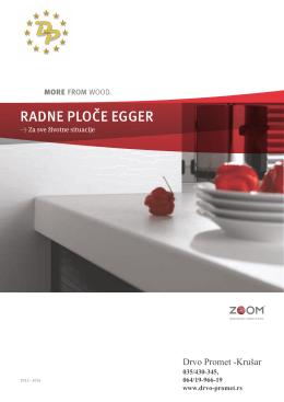 Katalog radnih ploča EGGER