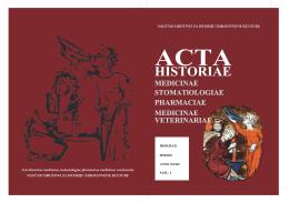 Untitled - Acta Historica