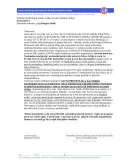 Sindikat medicinskih sestara i zdravstvenih tehničara Srbije