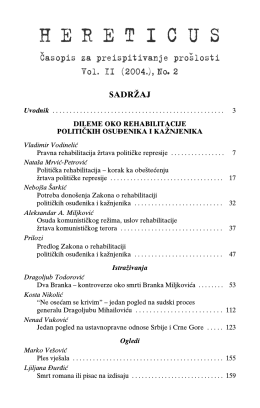 Hereticus 2004/2