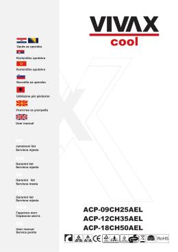 ACP-09CH25AEL ACP-12CH35AEL ACP