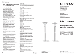 Pilz / Laterne